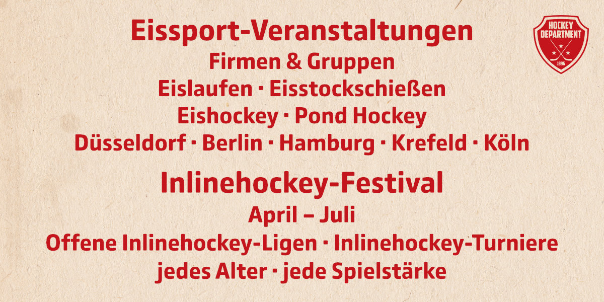 Hockey Department Angebote
