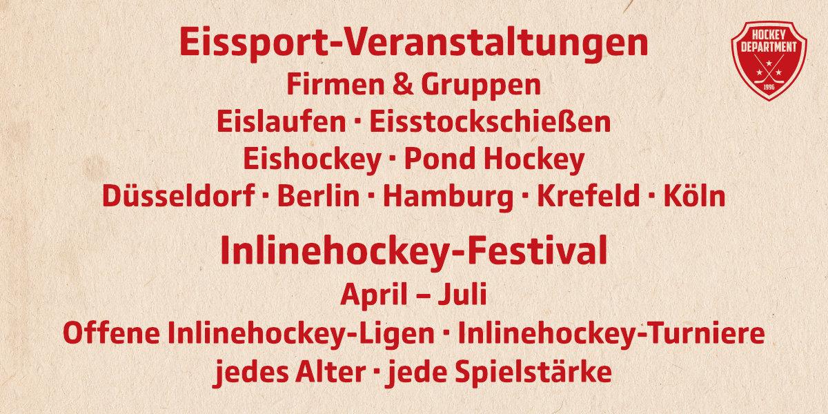 Hockey Department Angebote